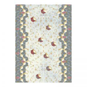 فرش 1200 شانه کهنه نما طرح L4114