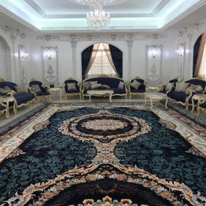 فرش بزرگ طرح رومنس