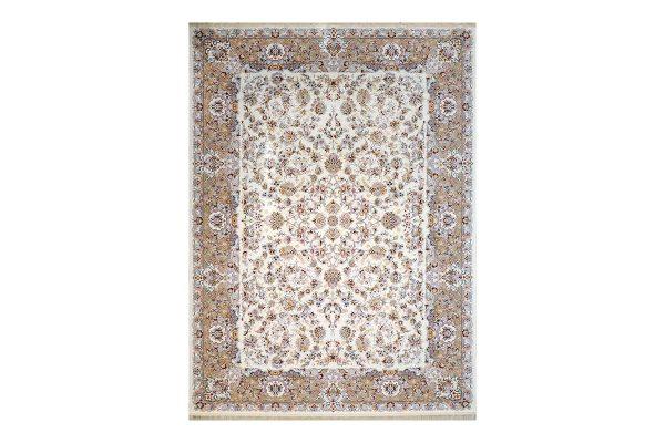 فرش 1200 شانه آویسا رنگ کرم