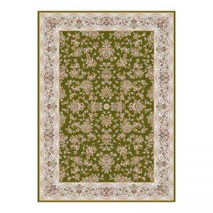 فرش 1200 شانه گل برجسته طرح کندوان رنگ سبز
