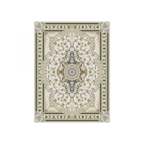 فرش رژینا 1500 شانه رنگ الماسی