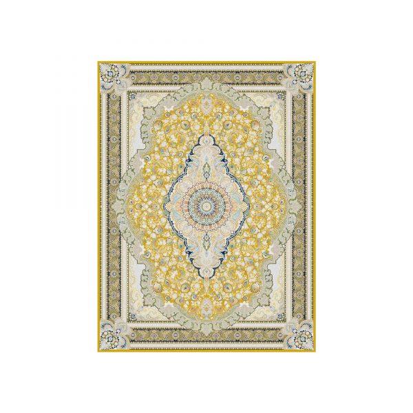 فرش 1500 شانه رژینا رنگ زرد