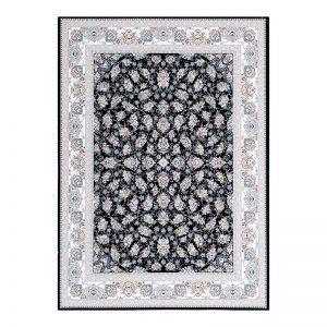 فرش گل برجسته 1500 شانه طرح دیانا رنگ بژ