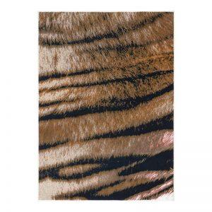 فرش طرح پوست 1500 شانه طرح تایگر