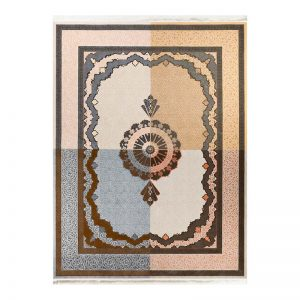 فرش گل برجسته 1500 شانه طرح تیماج