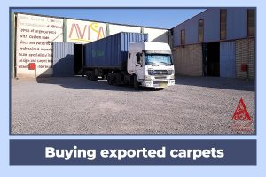 Buying exported carpets